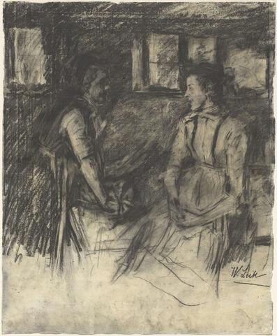 Wilhelm Leibl, 'Two Women in the Kitchen', 1895/1897