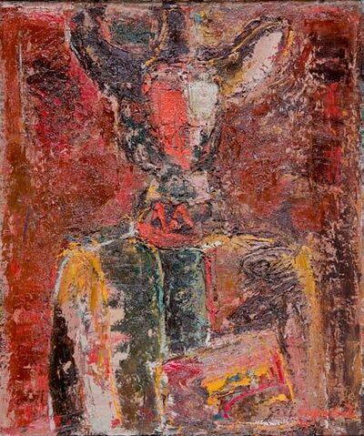 Varoujan VARDANIAN, 'The Old Artist', 1975
