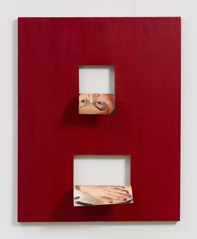 Valeska Soares, 'Doubleface (Alizarin Crimson)', 2017