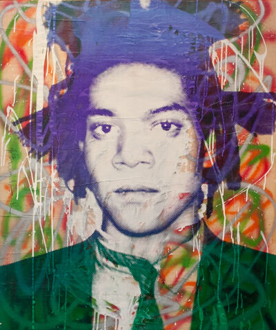 Mr. Brainwash, 'Jean-Michel Basquiat', 2010
