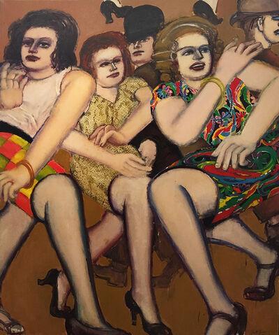 Lester Johnson, 'Three Women II', 1973