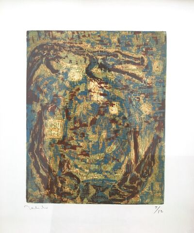 Francisco Toledo, 'Dos cocodrilos', 1999