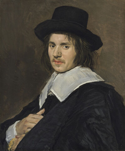 Frans Hals, 'Portrait of a Man', 1648/1650