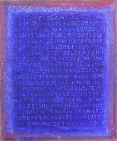 Bernhard Zimmer, 'AWH 145', 2016