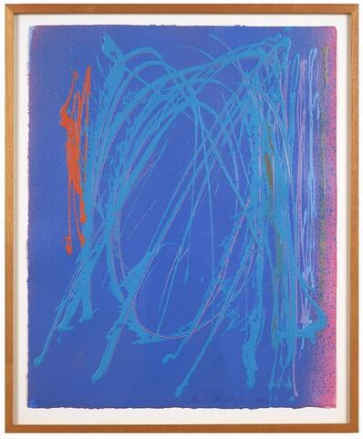 Dan Christensen, 'Untitled (Blue)', 1983