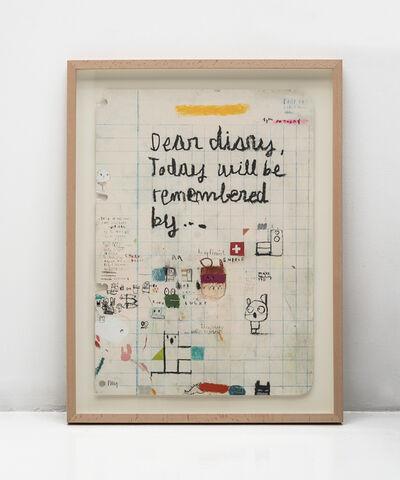 Edgar Plans, 'Dear diary', 2019