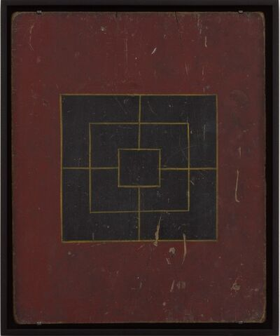Unknown Artist, 'Mills Game Board', Early 20th century