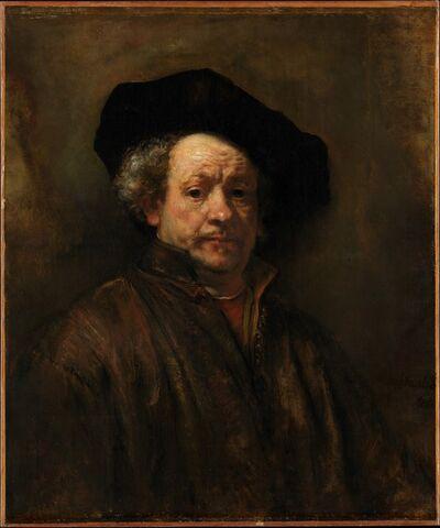 Rembrandt van Rijn, 'Self-Portrait', 1660