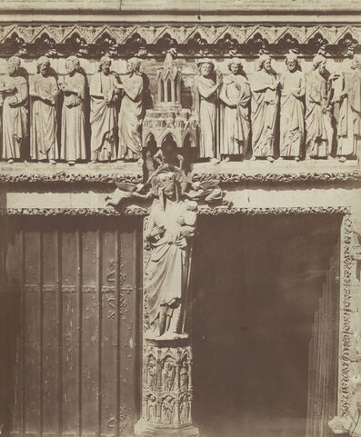 Bisson Frères, 'Cathedrale d'Amiens', 1854/1854