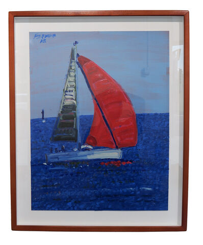 Frank Romero, 'Red Sail', 2016