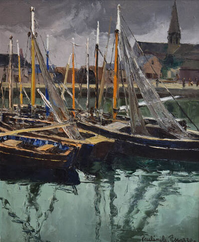 Paul-Emile Pissarro, 'Port En Bessin'