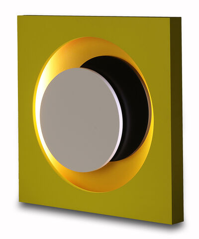 Geneviève Claisse, 'Cercles jaune', 1968-2014