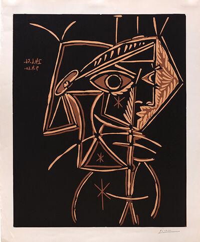Pablo Picasso, 'Tete de Femme', 1959-1960