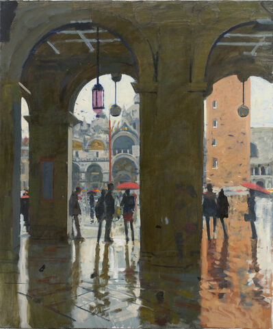 Ken Howard, 'San Marco from Calle Larga', 2017