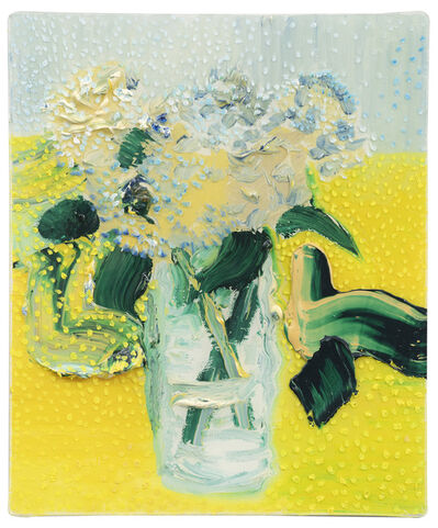Darius Yektai, 'Yellow Spotted Hydrangeas', 2020