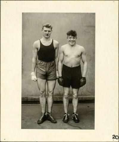 August Sander, 'Boxers', 1929