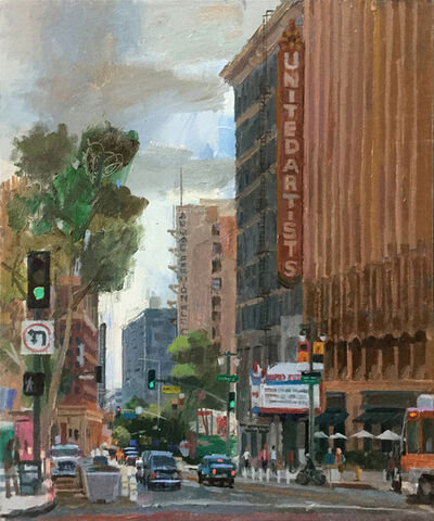 Alex Schaefer, 'United Artists Building, 9th and Broadway', 2019