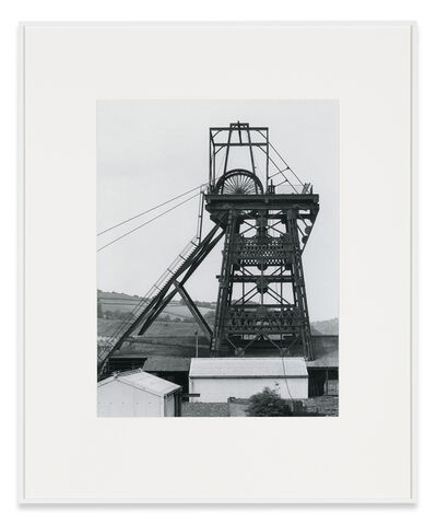 Bernd and Hilla Becher, 'Winding Tower, Merthyr Vale Colliery, Shaft 2, Aberavan, South Wales, GB', 1966