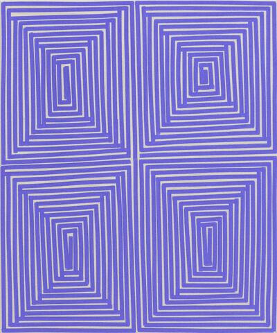 Bradley Harms, 'Lt Blu Violet Coffer (Geo)', 2014