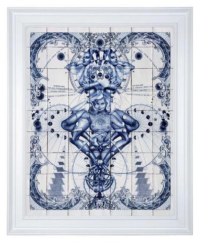 Handiedan, 'Pentade Delfts Blue', 2015