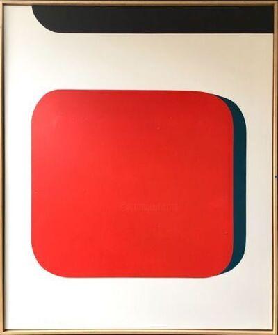 François Bonnel, 'Carré Rouge', 2019