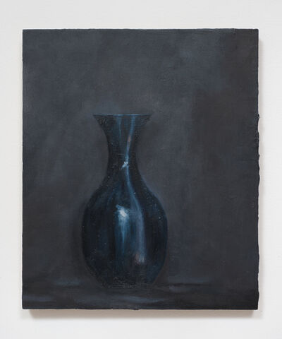 Rodney McMillian, 'The Vessels (a clear glass vase spray painted and painted again)', 2011-2014