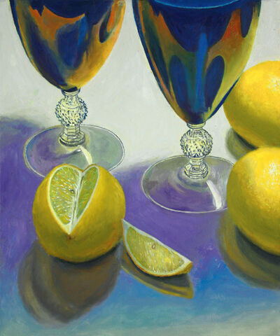 Douglas Newton, 'Blue Glasses and Lemons', 2020