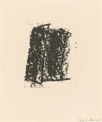 Richard Serra, 'Sketch #5', 1980