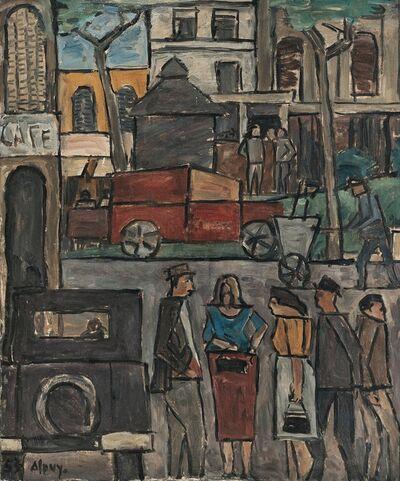 Julio Alpuy, 'Escena de ciudad', 1953