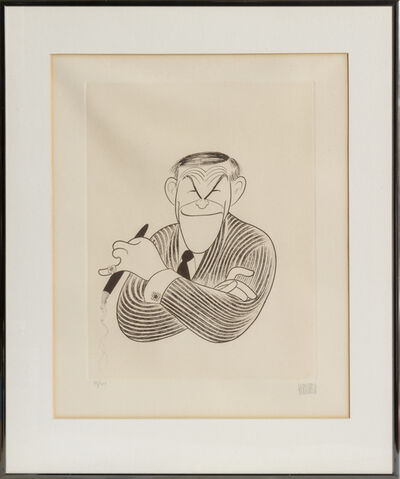 Al Hirschfeld, 'George Burns', 1982