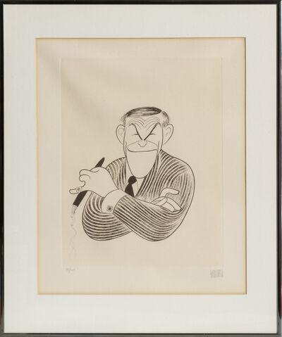 Al Hirschfeld, 'George Burns', 1982