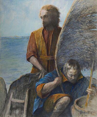 Arthur Polonsky, 'Icarus, The Preparation', 1983