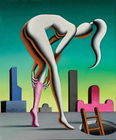 Mark Kostabi, 'Self Transformation', 2013