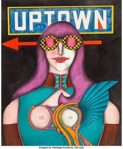 Richard Lindner, 'Uptown', 1968