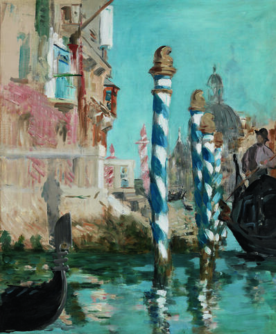 Édouard Manet, 'View in Venice - The Grand Canal', 1874