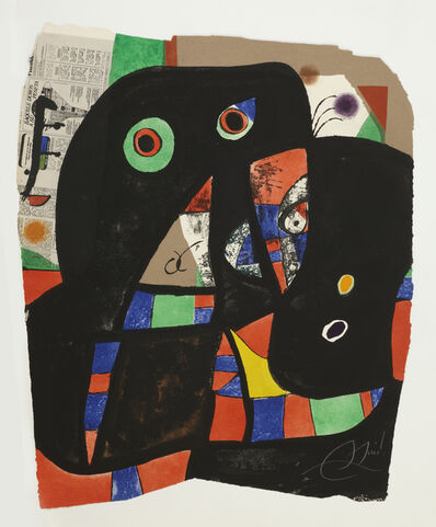 Joan Miró, 'Gaudi XX', 1979