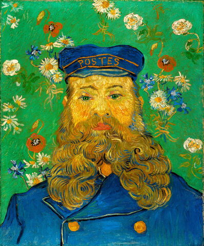 Vincent van Gogh, 'The Postman Joseph Roulin', 1888