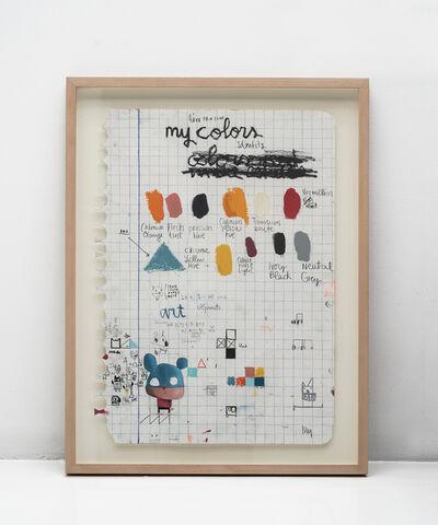 Edgar Plans, 'My colors', 2019