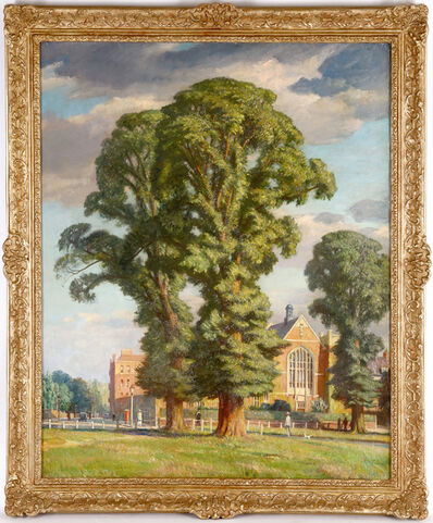 Francis Dodd, 'Elm Tree in the Suburbs'