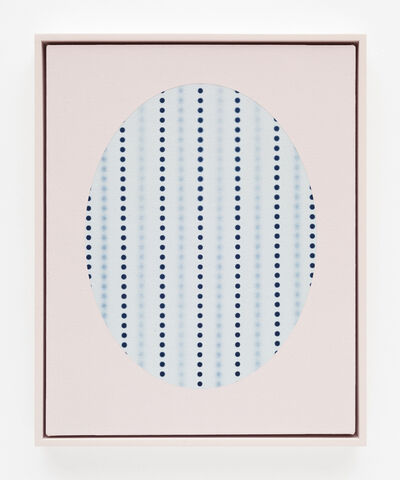 John Opera, 'Oval with dots (Blue)', 2018