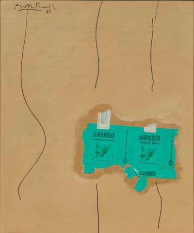 Robert Motherwell, 'Green Gauloises', 1973