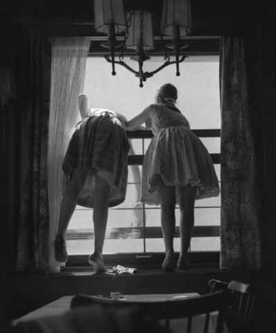 Fred Stein, 'Window Washers (Germany)', 1961