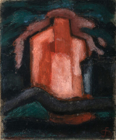 Oscar Bluemner, 'Untitled, Study for 'A House in the Night'', 1926