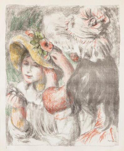 Pierre-Auguste Renoir, 'Le chapeau epingle, 2e planche', 1898