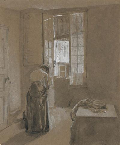 Gwen John, 'Woman Dressing', circa 1907