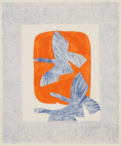 Georges Braque, 'Oiseaux en vol (Bird in Flight)', 1961