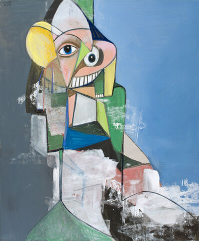 George Condo, 'Heading Out', 2013