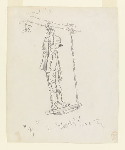 Winslow Homer, 'Boy on a Swing', 1879