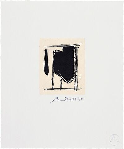 Robert Motherwell, 'España I', 1977