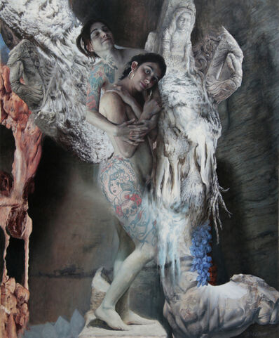 PABLO SANTIBÁÑEZ SERVAT, 'SUSANNE AND ALINE', 2018